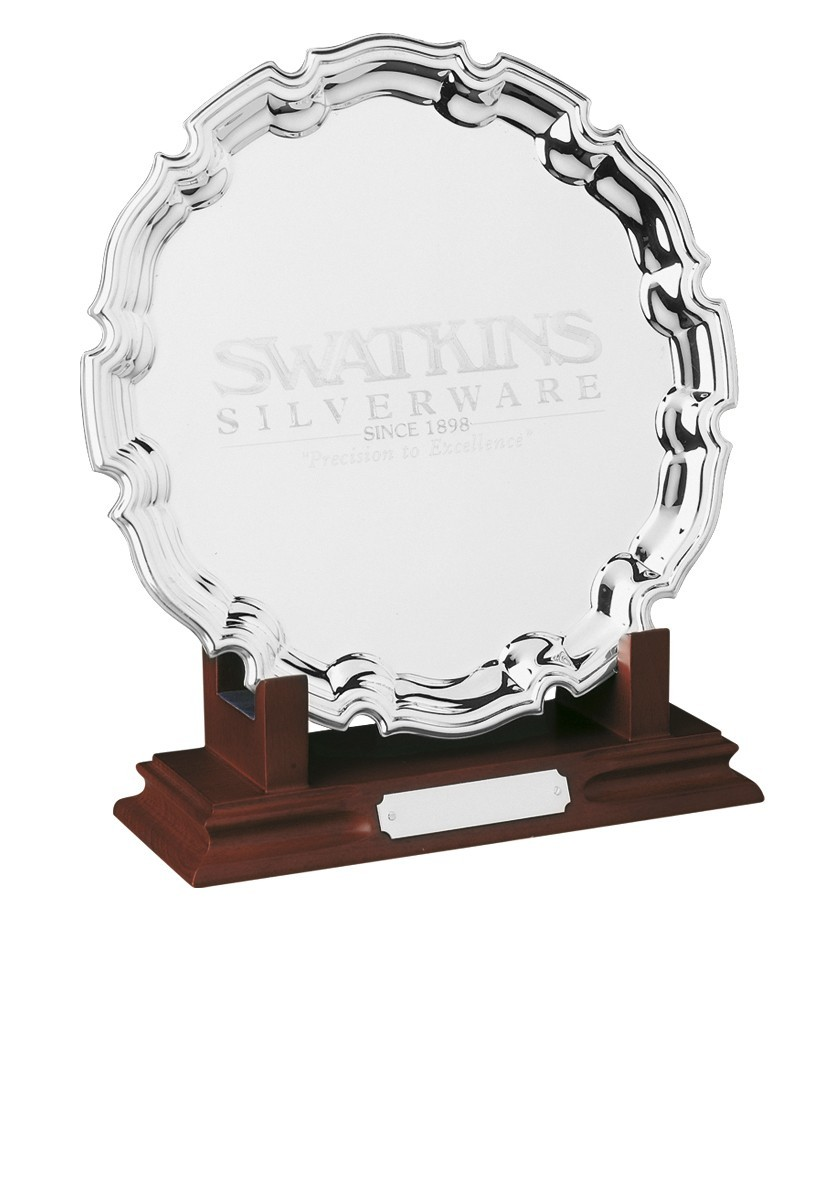 MB Wooden Tray Stand