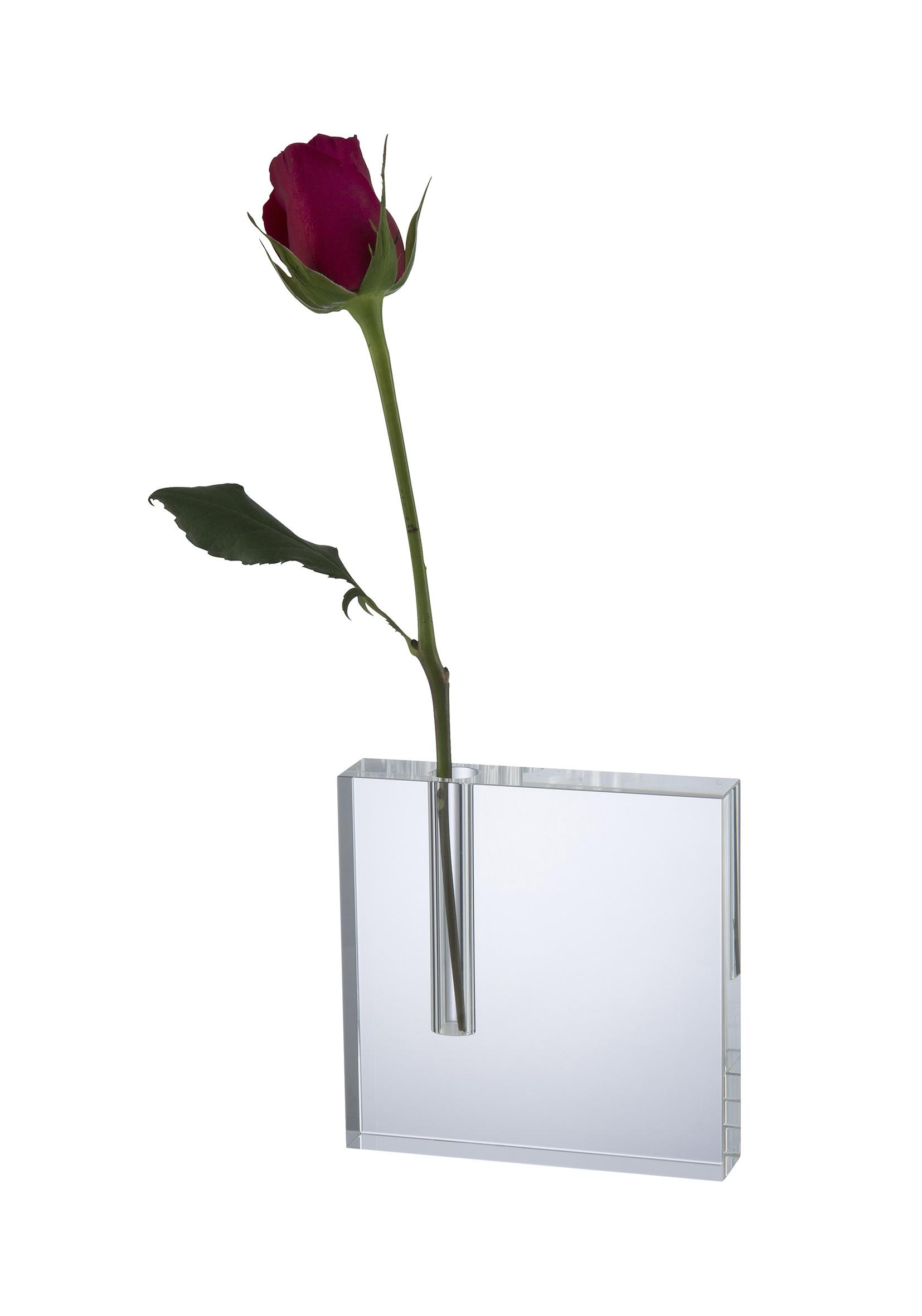 12.5cm Swatkins Crystal Flower Holder