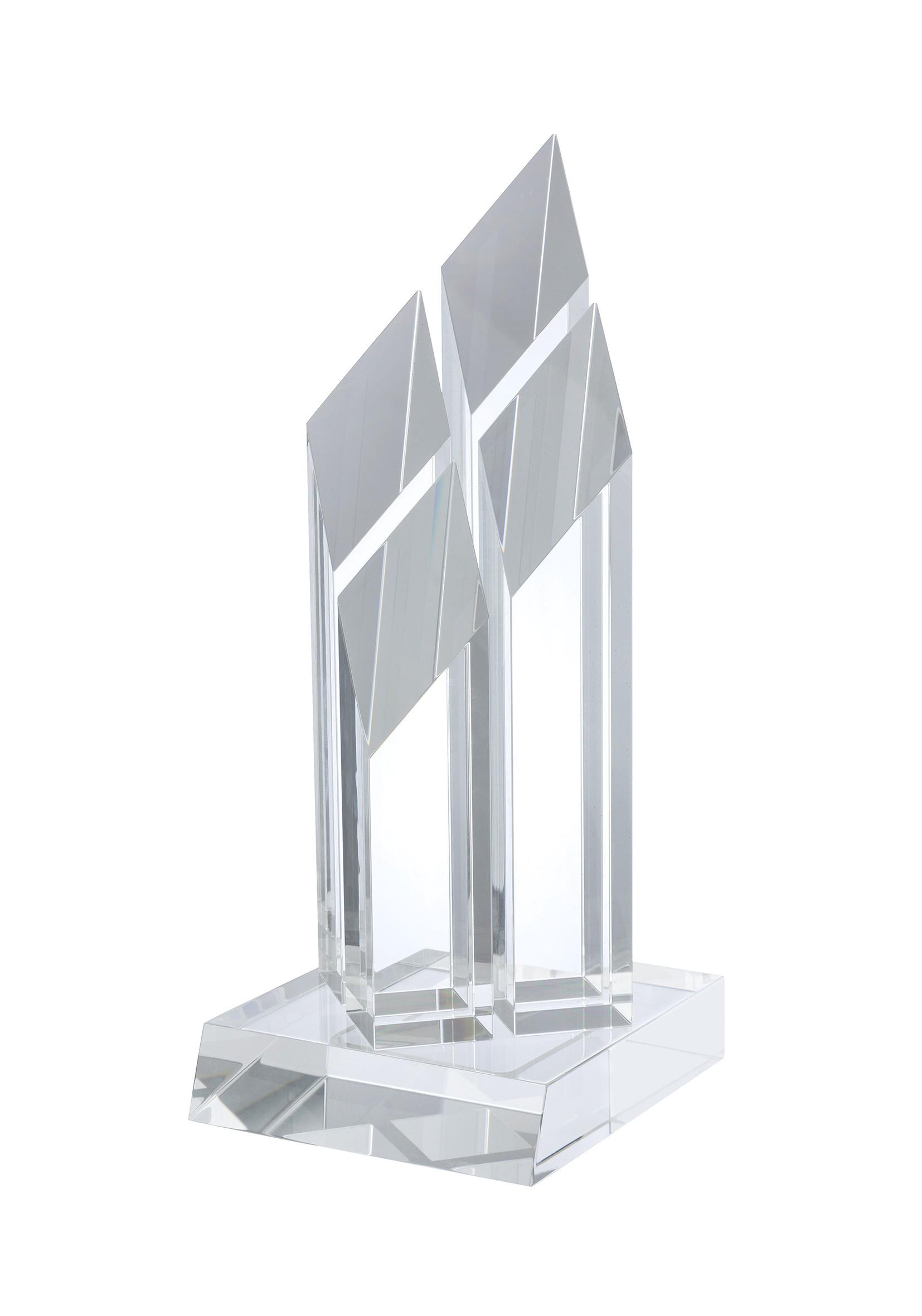 31cm Swatkins Crystal Award