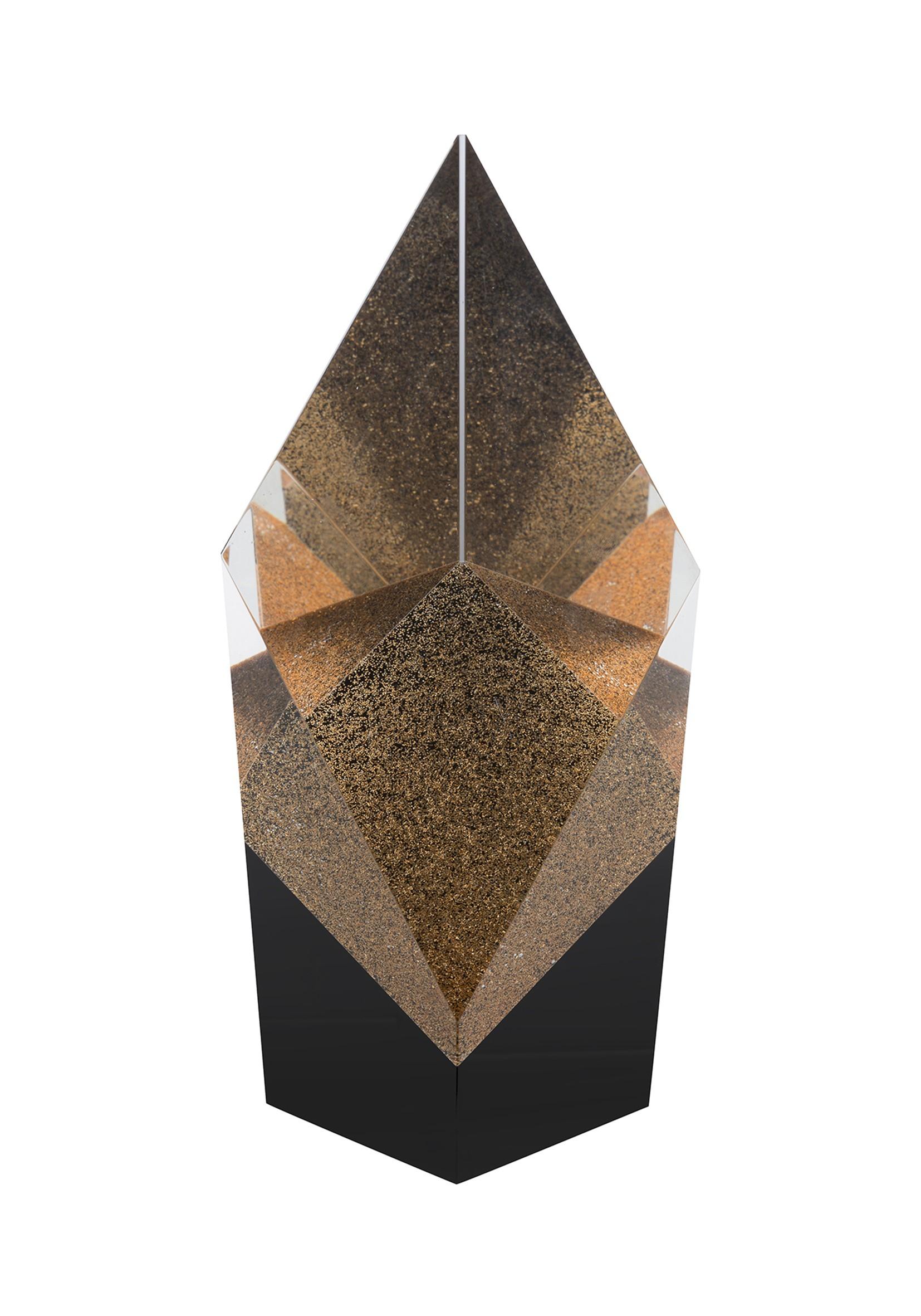 17.5cm Swatkins Crystal Award
