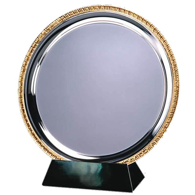 Vortex Salver In Silver