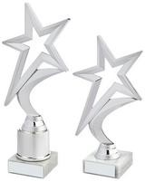 18.5cm Silver Shooting Star Holder Award