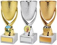 16cm Gold 'Egg Cup' Bowl Awards