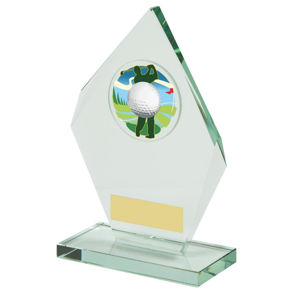 Jade Glass Diamond Golf Award