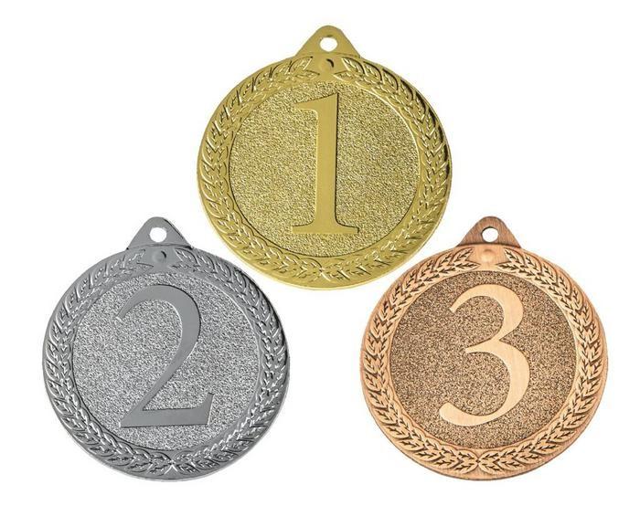 50mm Placing Antique Finish Medals