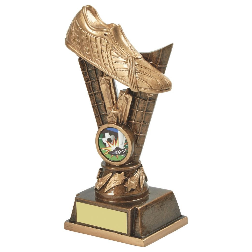 Golden Boot Resin Football Award