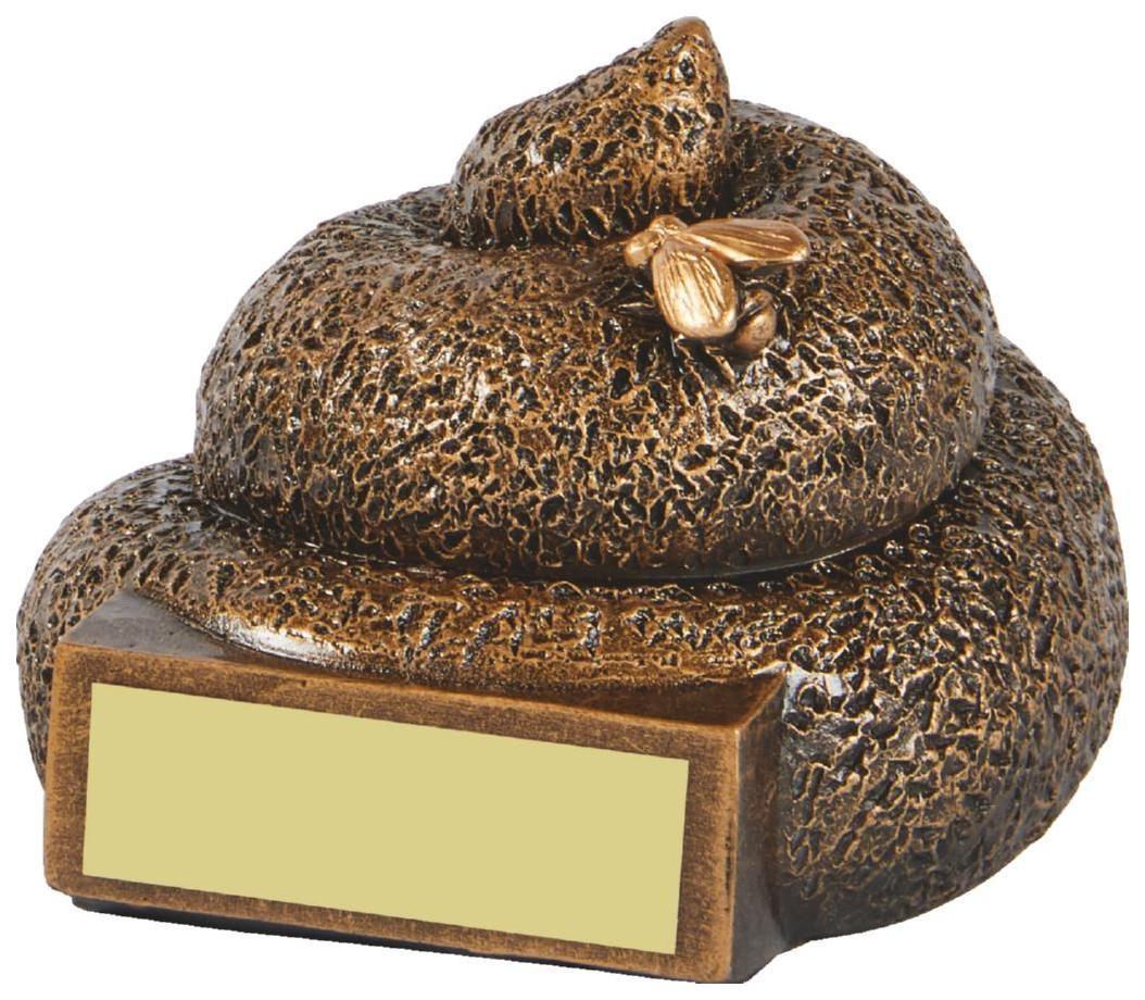 Dog Mess Resin Award