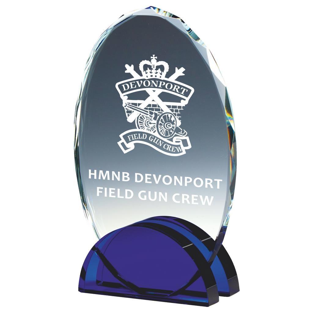 Glass Oval Award