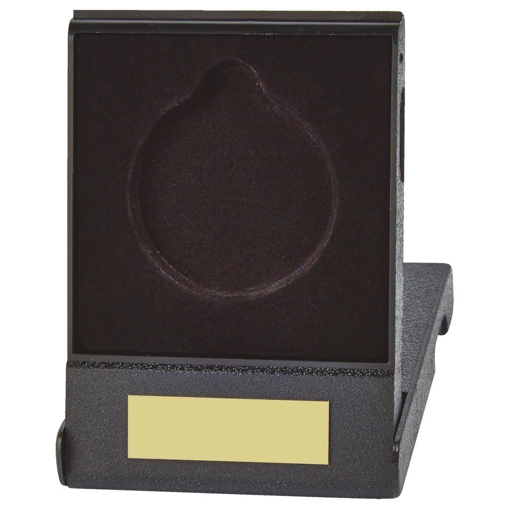 Economy Black Medal Box for 60mm Medals