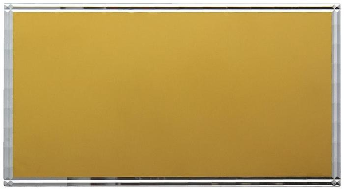 Gold Engraving Plate with Cut Border (W60, H25)