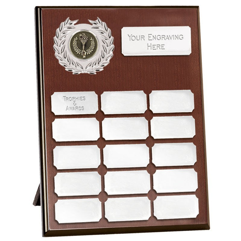 Westminster Budget Record Plaque (N In Silver