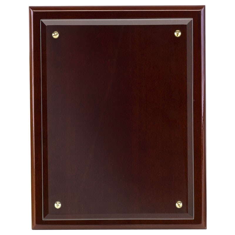 Primary Presentation Plaque In Walnut