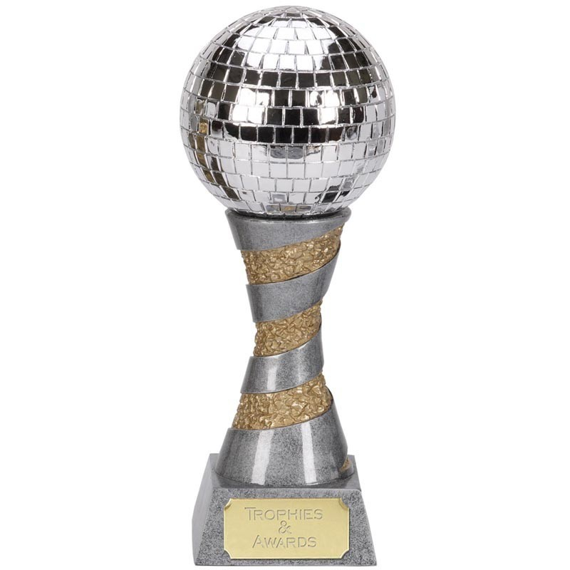 X-Plode Mirror Ball In Silver And Gold