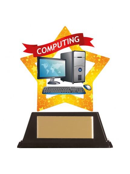 Mini-Star Computing Acrylic Plaque 100mm