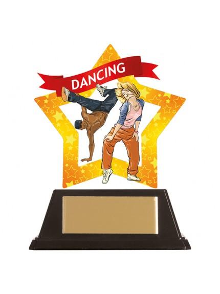 Mini-Star Street Dance Acrylic Plaque 100mm