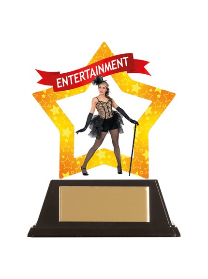 Mini-Star Entertainment Acrylic Plaque 100mm