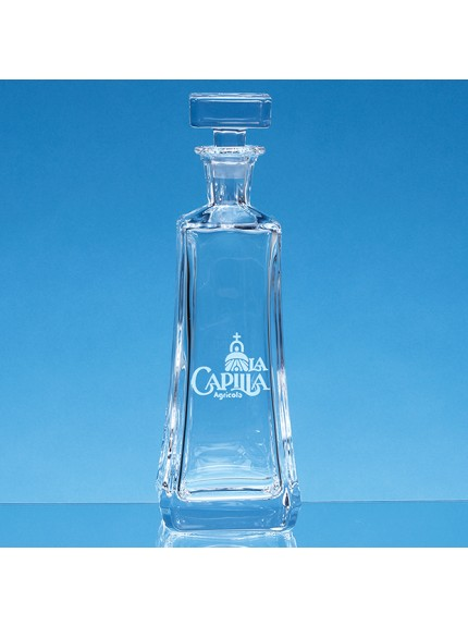 0.7ltr Crystalite Aretzo Tapered Decanter