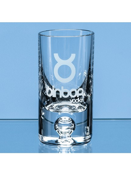 30ml Tall Bubble Base Shot Glass