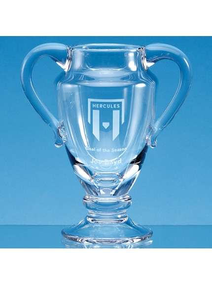 21.5cm Handmade Double Handled Trophy Cup/Vase