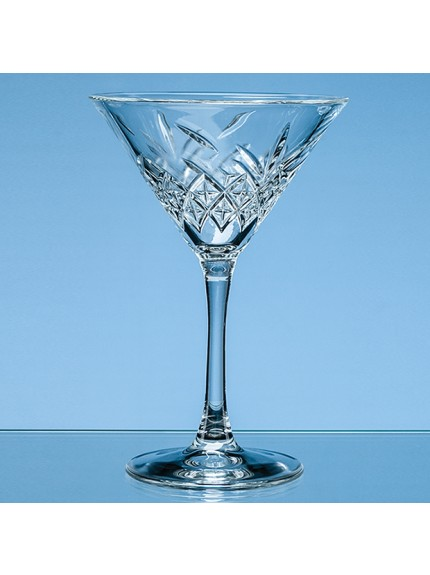 230ml Creative Bar Full Cut Martini Glass