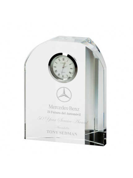 Prestige Crystal Clock 120mm
