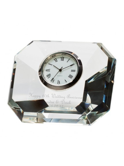 Infinity Crystal Clock 85mm