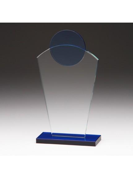 Jade Horizon Crystal Award 220mm
