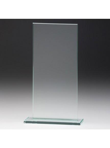 Jade Glass Gladiator Plaque Award
