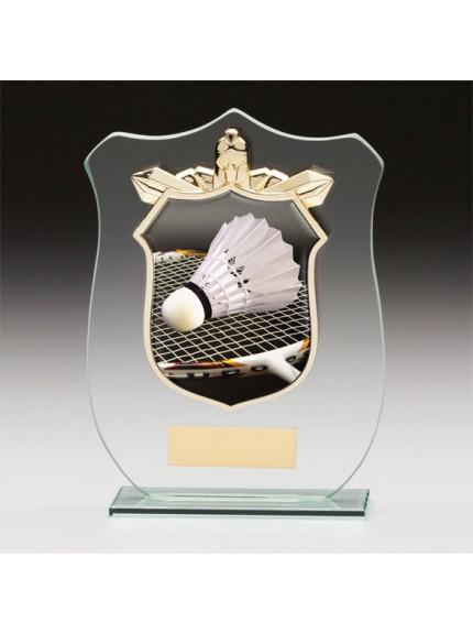 Titans Glass Badminton Shield