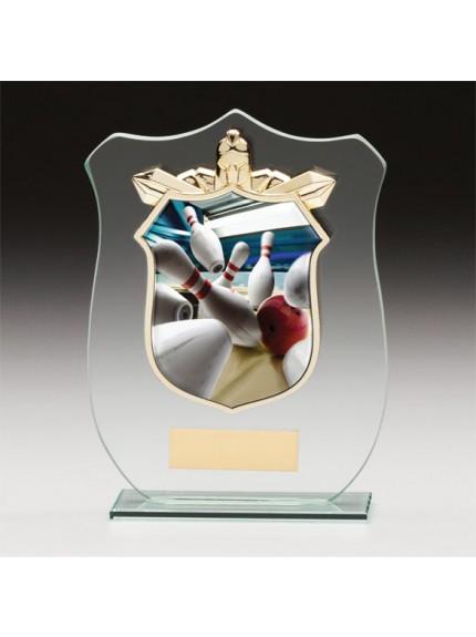 Titans Glass Ten Pin Bowling Shield