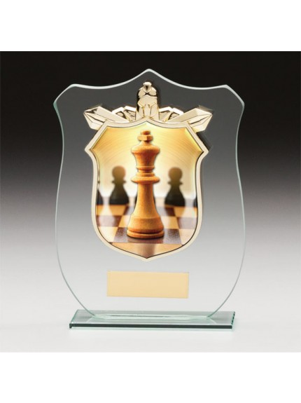 Titans Glass Chess Shield