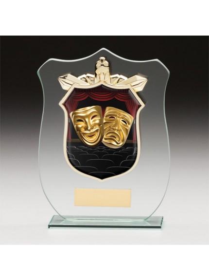 Titans Glass Drama Shield