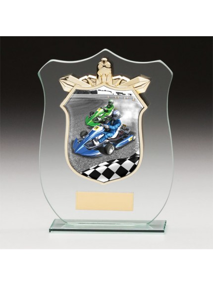 Titans Glass Go Kart Shield