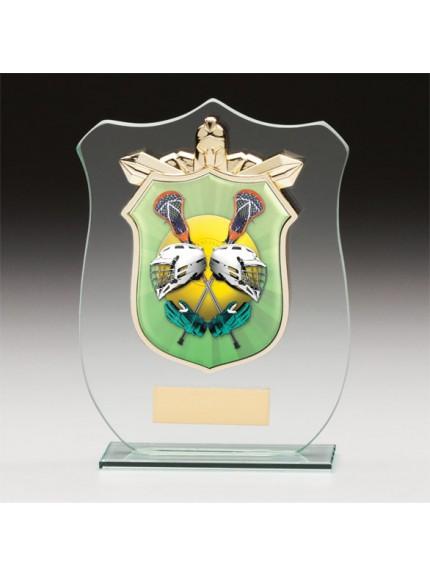 Titans Glass Lacrosse Shield