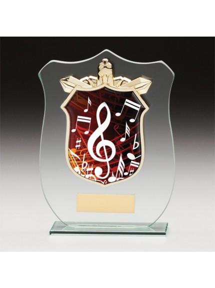 Titans Glass Music Shield