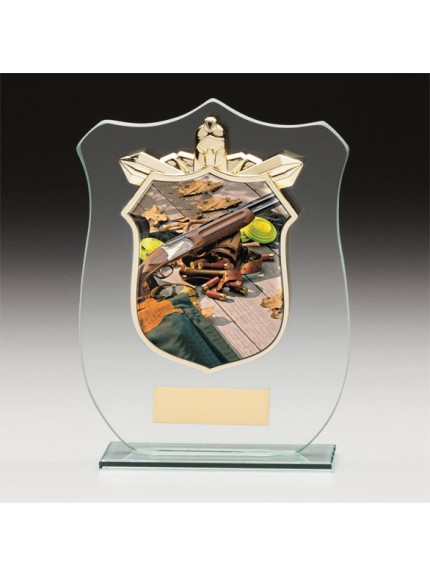 Titans Glass Clay Pigeon Shield