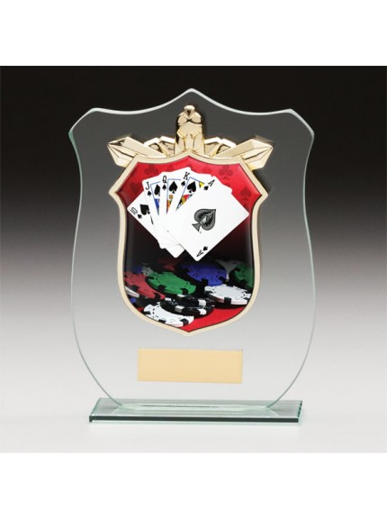 Titans Glass Poker Shield