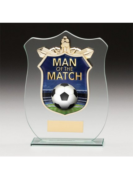 Titans Glass Man Of The Match Shield