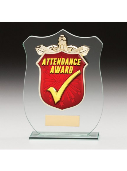 Titans Glass Schools Attendance Shield