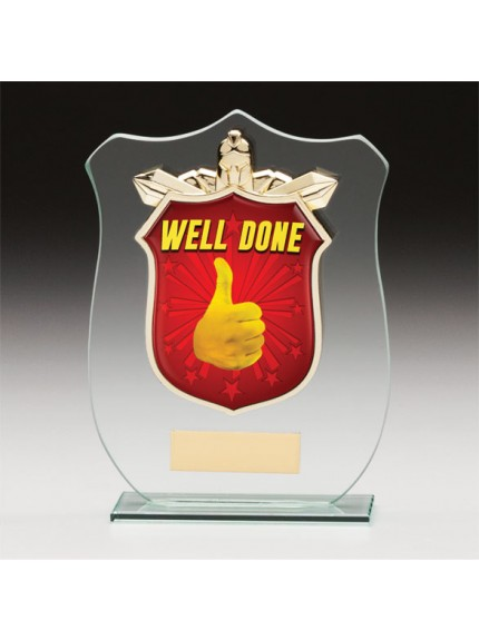 Titans Glass Schools Well Done Shield