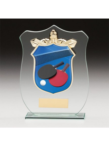Titans Glass Table Tennis Shield