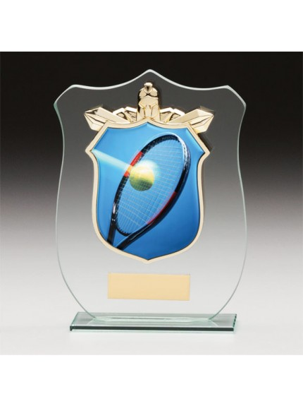 Titans Glass Tennis Shield
