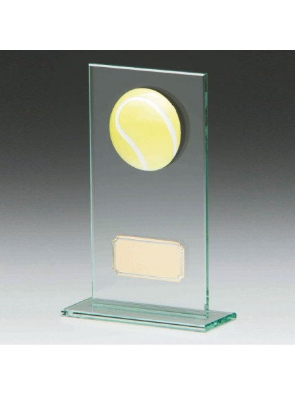 Horizon Jade Glass Tennis Award
