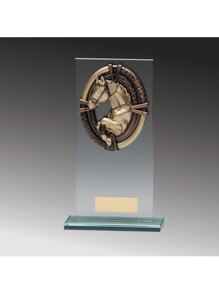 Maverick Legacy Glass Equestrian Bronze