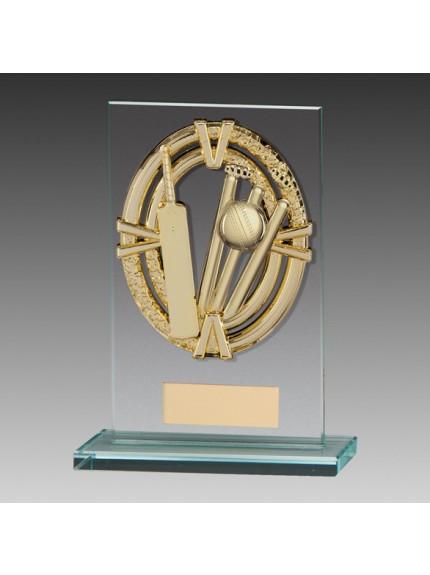 Maverick Legacy Glass Award Cricket Gold
