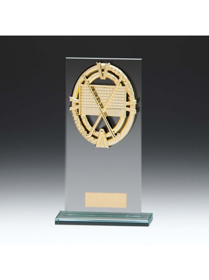 Maverick Legacy Glass Award Hockey Gold