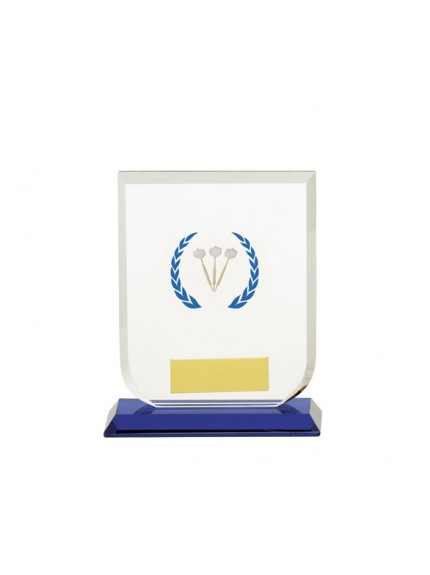 Gladiator Darts Glass Award - Available in 3 Sizes