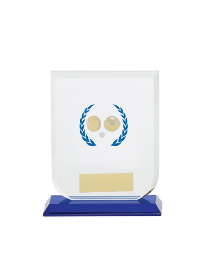 Gladiator Lawn Bowls Glass Award - Available in 3 Sizes