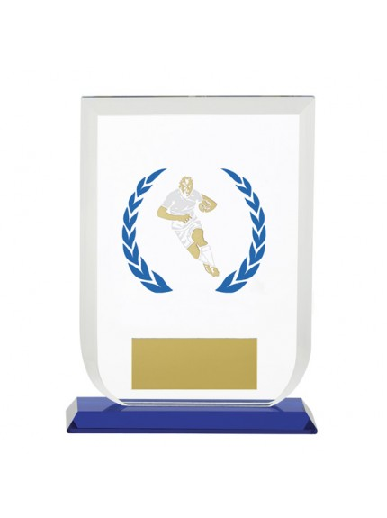 Gladiator Rugby Glass Award - Available in 2 Sizes