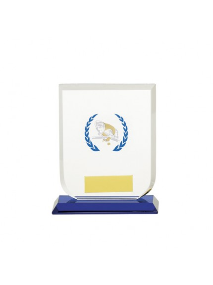 Gladiator Pool/Snooker Glass Award - Available in 3 Sizes